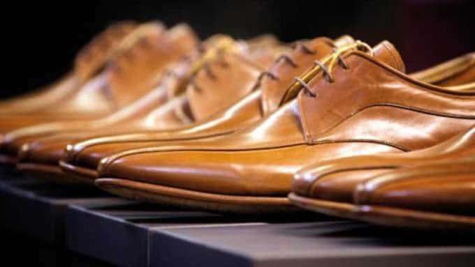 Ambiorix rahmengenähte Schuhe aus edlem Leder