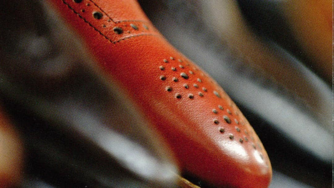 Rahmengenähte Schuhe in 7 Schritten personalisiert